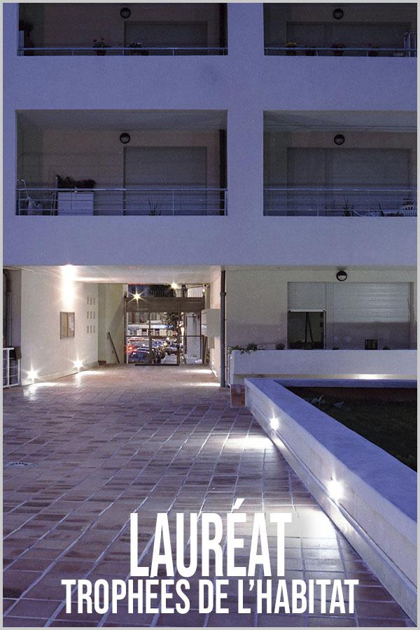 Leteissier Corriol - Agence d'architecture - Lauréat trophées de l'habitat AMO PACA Prix VIVRELEC 1997