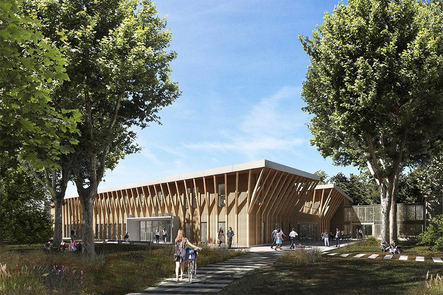 Leteissier Corriol - Agence d'architecture - Cœur de Centre INRA PACA Avignon 84