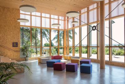 Leteissier Corriol - Agence d'architecture - L'Écocampus Provence de Sainte Tulle dans AMC