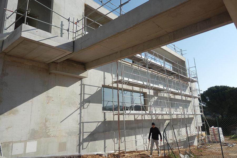 Leteissier Corriol - Agence d'architecture - Suite du chantier cuisine centrale