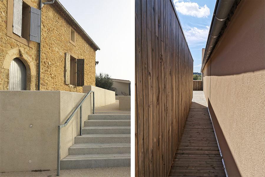 Leteissier Corriol - Agence d'architecture - Fin de chantier lycée vitivinicole