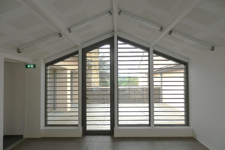 Leteissier Corriol - Agence d'architecture - Caveau Château Mongin livré