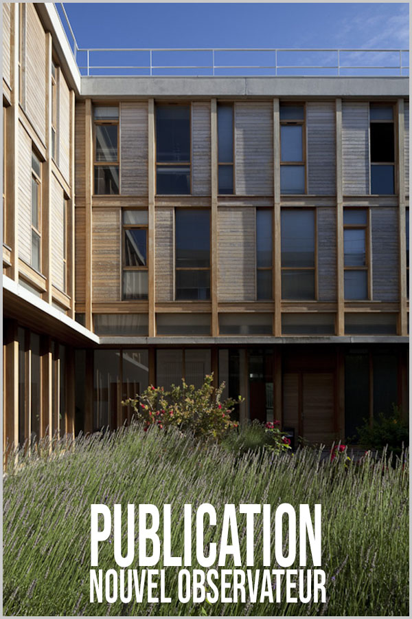 Leteissier Corriol - Agence d'architecture - «Institut de recherche sur les phénomènes hors équilibre» Nouvel Observateur Juin 2014