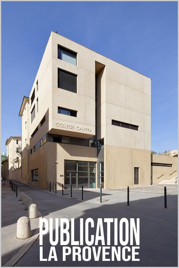 Leteissier Corriol - Agence d'architecture - La Provence 9 Février 2011