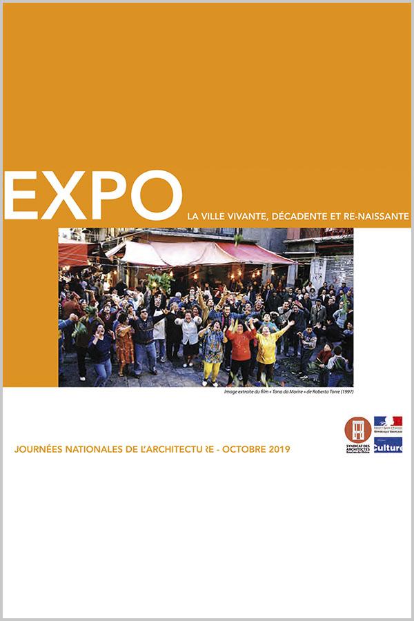 Leteissier Corriol - Agence d'architecture - Exposition «La ville vivante, décadente et renaissante» SA13 DRAC PACA Octobre 2019