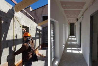 Leteissier Corriol - Agence d'architecture - Suite du chantier Alauzen