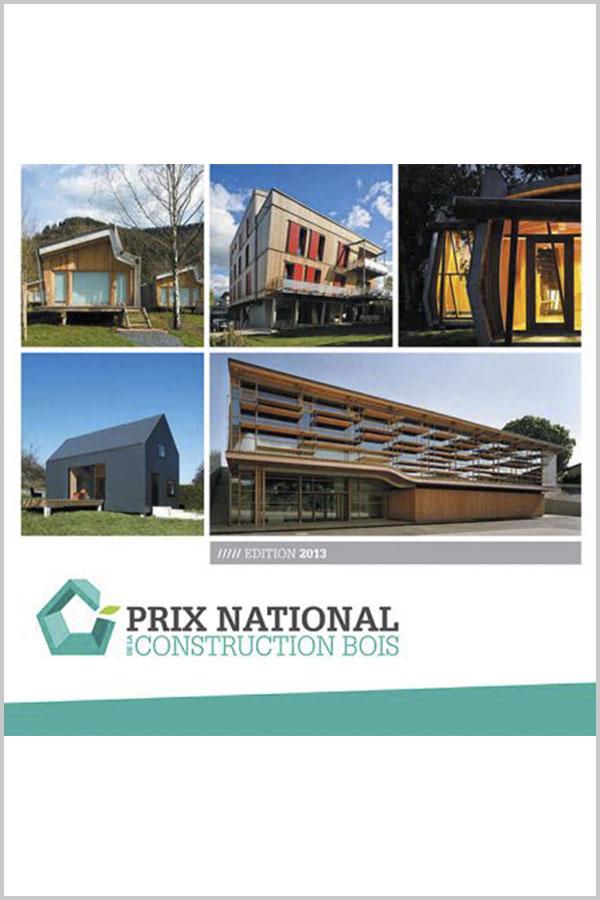 Leteissier Corriol - Agence d'architecture - Nommé au prix national 2013 de la construction bois Editons 2014