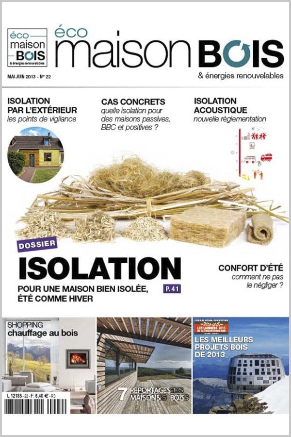 Leteissier Corriol - Agence d'architecture - «Résultat lauriers du bois 2013» Eco maison bois & énergies renouvelable n°22 Juin 2013