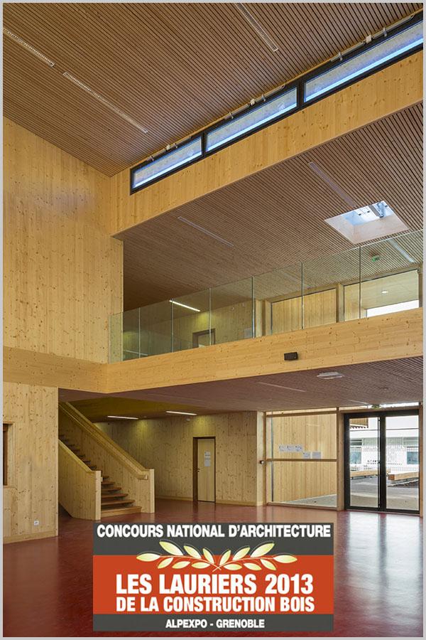 Leteissier Corriol - Agence d'architecture - Lauréat des lauriers du bois 2013 catégorie rénovation-extension