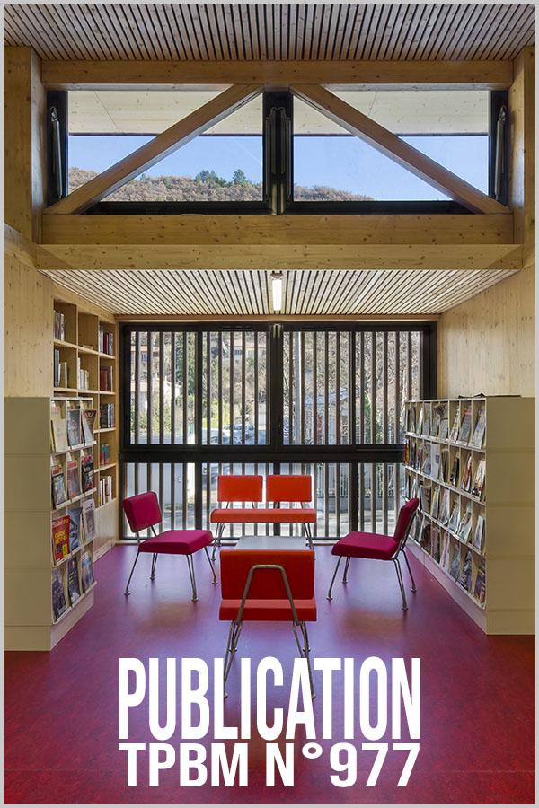 Leteissier Corriol - Agence d'architecture - TPBM n°977 Juin 2013