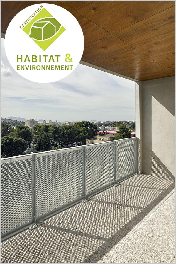 Leteissier Corriol - Agence d'architecture - Certifié habitat & environnement option très économe en charges