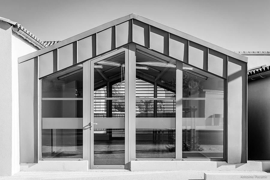Leteissier Corriol - Agence d'architecture - Caveau Château Mongin Orange 84