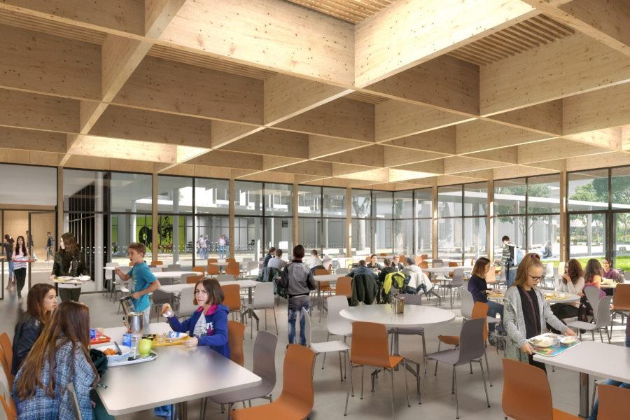 Leteissier Corriol - Agence d'architecture - Collège Carcassonne Pelissanne 13