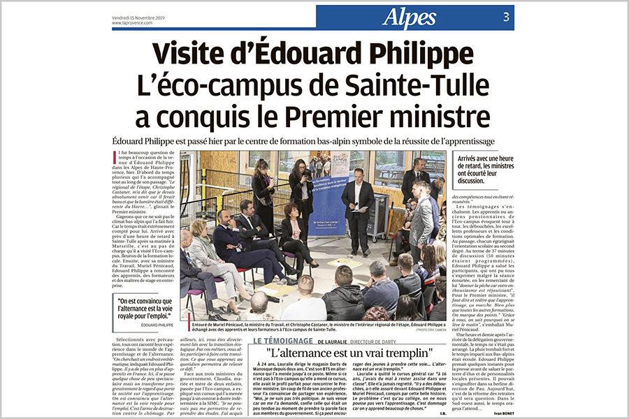 Leteissier Corriol - Agence d'architecture - Premier Ministre à l'Ecocampus