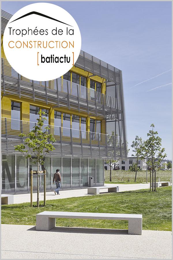 Leteissier Corriol - Agence d'architecture - Finaliste trophées 2016 catégorie équipement public