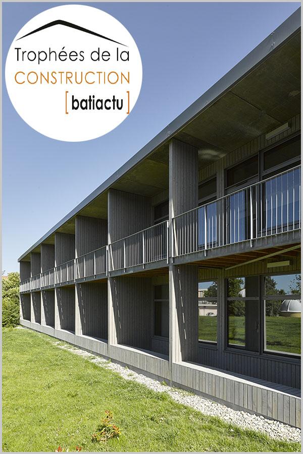 Leteissier Corriol - Agence d'architecture - Finaliste trophées 2016 catégorie rénovation bâtiment tertiaire