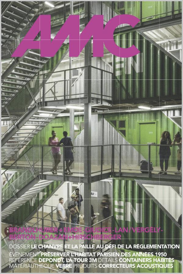 Leteissier Corriol - Agence d'architecture - Dossier construction biosourcé AMC n°277 Avril 2019
