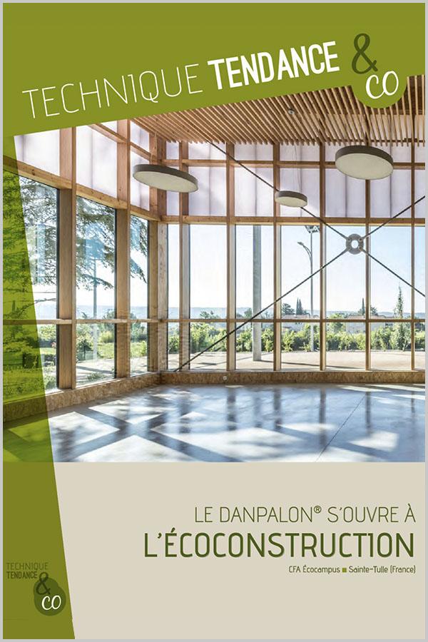 Leteissier Corriol - Agence d'architecture - «Danpalon et écoconstruction» Architecture Lumière n°1831 2018