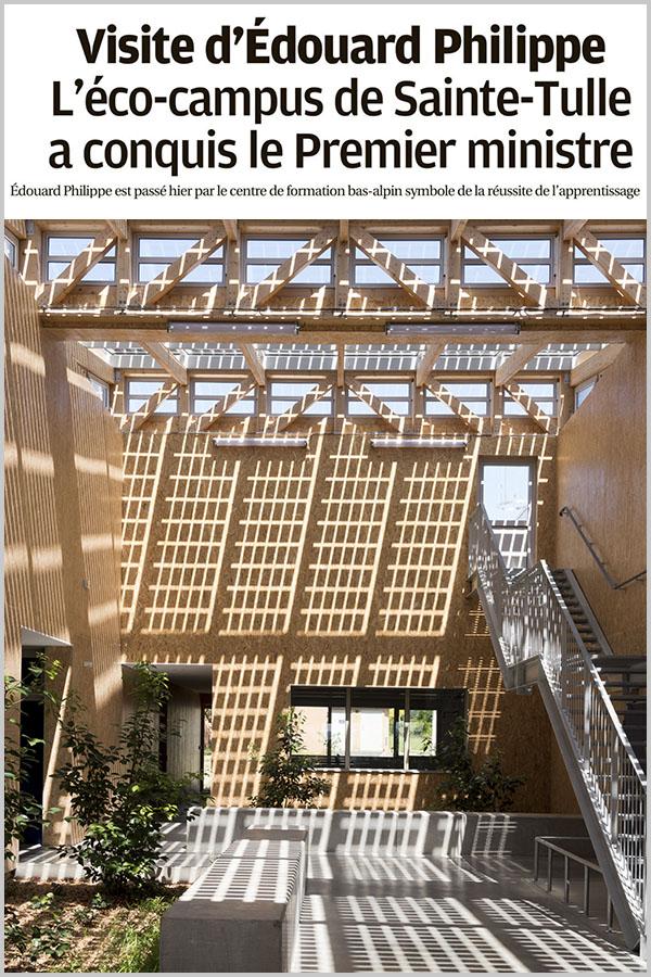 Leteissier Corriol - Agence d'architecture - La Provence 15 Novembre 2019