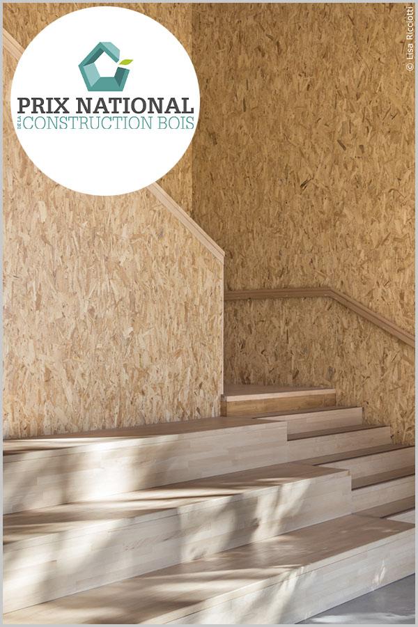 Leteissier Corriol - Agence d'architecture - Finaliste prix national 2020 de la construction bois, catégorie «Apprendre, se divertir»