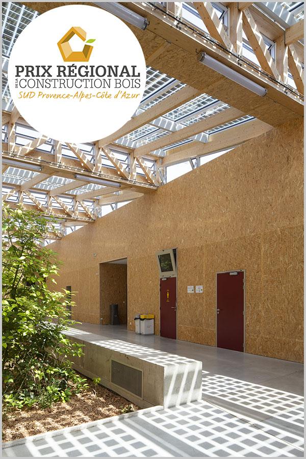 Leteissier Corriol - Agence d'architecture - Lauréat prix régional 2020 de la construction bois, catégorie «Apprendre, se divertir»