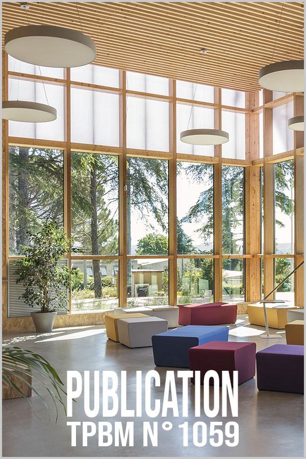 Leteissier Corriol - Agence d'architecture - TPBM n°1059 Janvier 2015