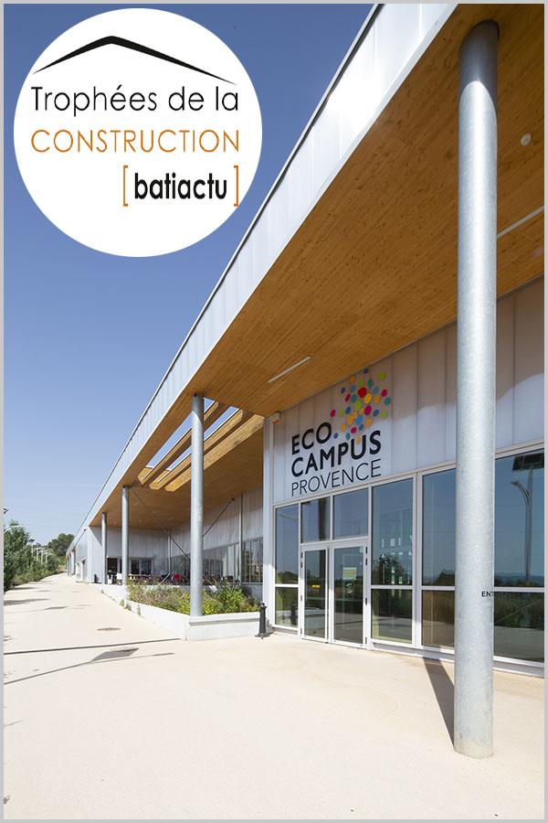 Leteissier Corriol - Agence d'architecture - Finaliste trophées 2018 catégorie équipement public