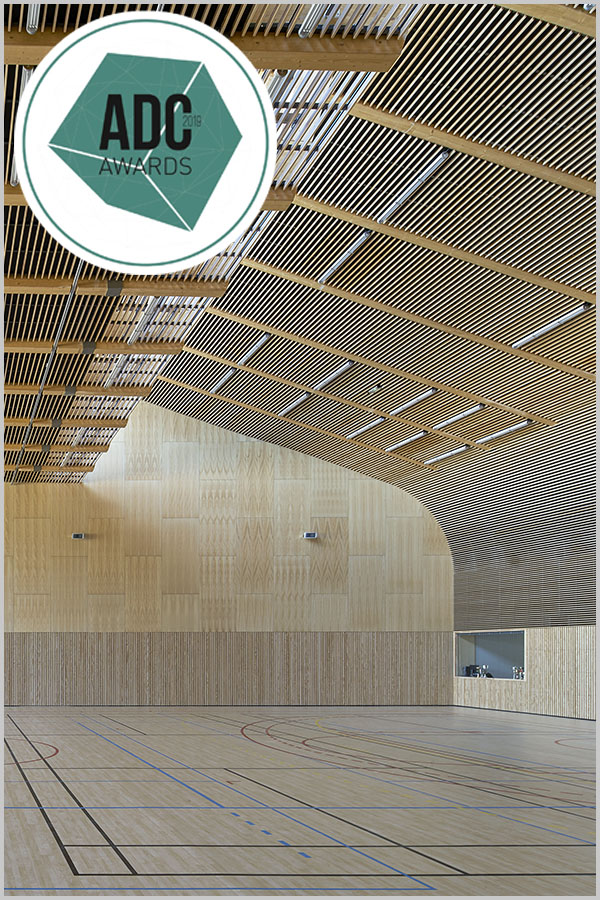 Leteissier Corriol - Agence d'architecture - Nommé aux ADC awards 2019 catégorie sports