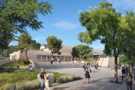 Leteissier Corriol - Agence d'architecture - Salle polyvalente