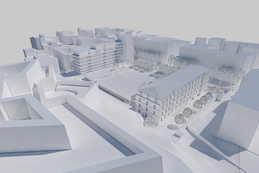 Leteissier Corriol - Agence d'architecture - Lauréat concours collège Defferre