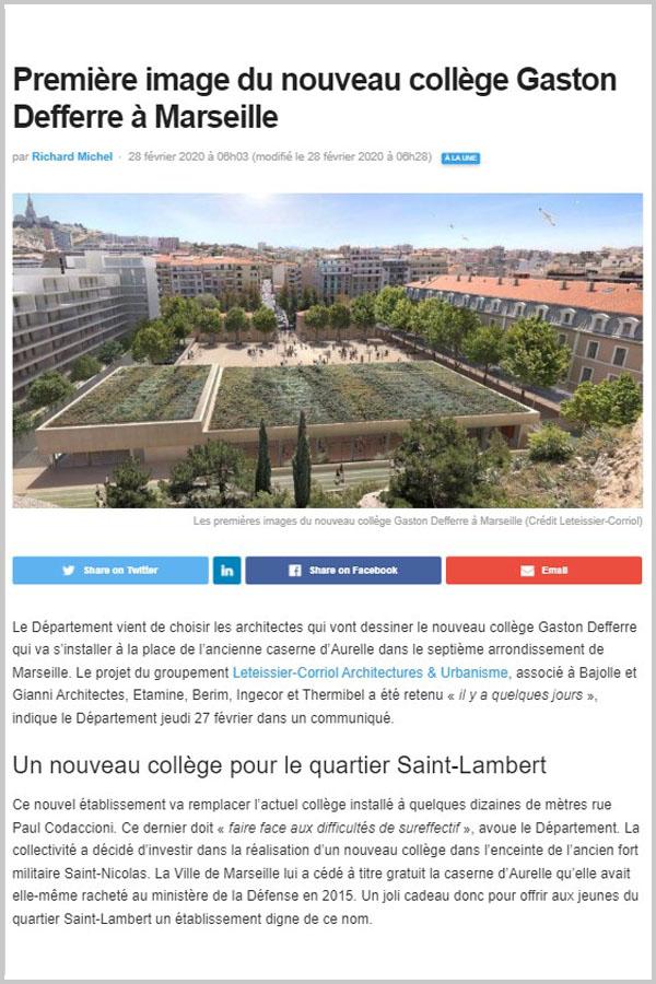Leteissier Corriol - Agence d'architecture - Gomet' Mars 2020