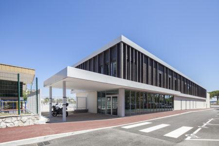 Leteissier Corriol - Agence d'architecture - Livraison stade nautique Antibes