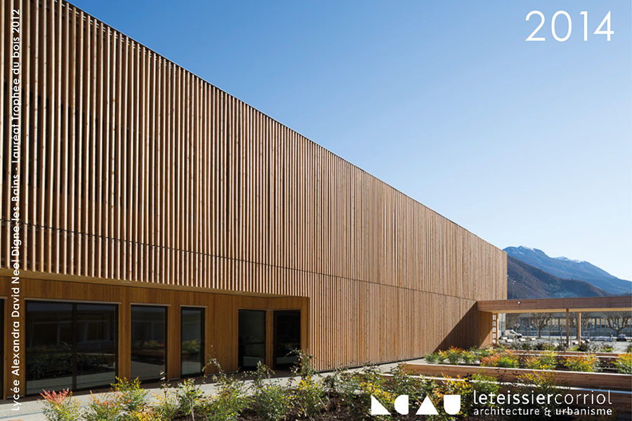 Leteissier Corriol - Agence d'architecture - Vœux 2014