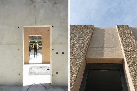 Leteissier Corriol - Agence d'architecture - Bétons matricés et lisses
