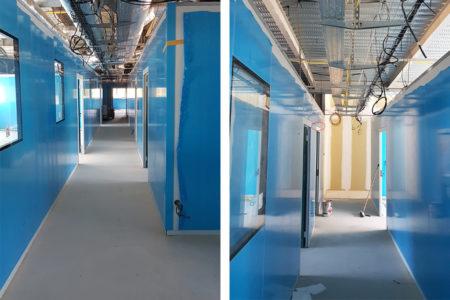 Leteissier Corriol - Agence d'architecture - Avancement chantier Keybio