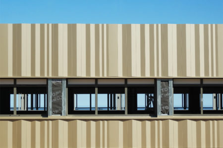 Leteissier Corriol - Agence d'architecture - Pose bardage «Chaotic»