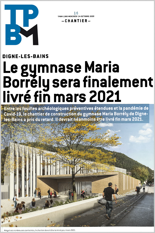 Leteissier Corriol - Agence d'architecture - TPBM Octobre 2020
