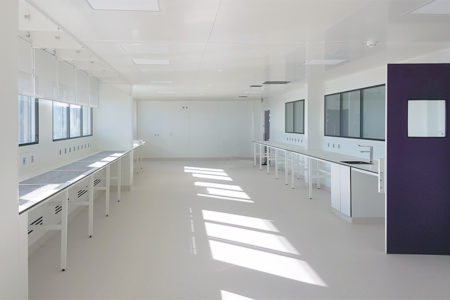 Leteissier Corriol - Agence d'architecture - Fin de chantier Keybio